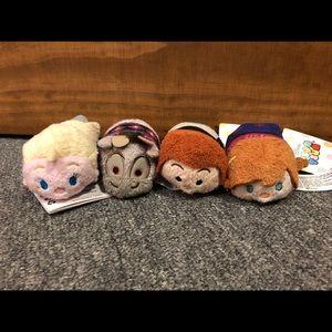Disney Frozen Tsums Plush -Anna, Elsa, Sven & Hans